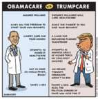 Jen Sorensen  Jen Sorensen's Editorial Cartoons 2017-03-13 Donald Trump taxes