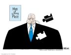 Ann Telnaes  Ann Telnaes' Editorial Cartoons 2002-04-20 George Bush