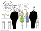 Ann Telnaes  Ann Telnaes' Editorial Cartoons 2002-11-25 alcohol