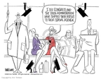 Ann Telnaes  Ann Telnaes' Editorial Cartoons 2002-11-26 invasion of privacy