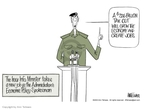 Ann Telnaes  Ann Telnaes' Editorial Cartoons 2003-04-12 tax cut
