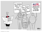 Ann Telnaes  Ann Telnaes' Editorial Cartoons 2003-06-20 demand