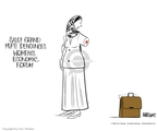 Ann Telnaes  Ann Telnaes' Editorial Cartoons 2004-01-30 rights of women