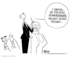 Ann Telnaes  Ann Telnaes' Editorial Cartoons 2004-02-12 George W. Bush