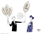 Ann Telnaes  Ann Telnaes' Editorial Cartoons 2006-04-13 George W. Bush