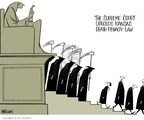 Ann Telnaes  Ann Telnaes' Editorial Cartoons 2006-06-28 David Souter
