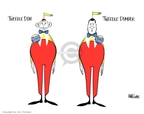 Ann Telnaes  Ann Telnaes' Editorial Cartoons 2006-08-25 George W. Bush