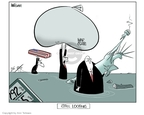 Ann Telnaes  Ann Telnaes' Editorial Cartoons 2006-08-28 George W. Bush