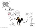 Ann Telnaes  Ann Telnaes' Editorial Cartoons 2007-08-23 return