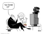 Ann Telnaes  Ann Telnaes' Editorial Cartoons 2007-12-13 Dick Cheney