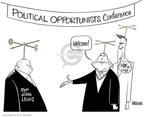 Ann Telnaes  Ann Telnaes' Editorial Cartoons 2008-02-17 2008 election