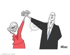 Ann Telnaes  Ann Telnaes' Editorial Cartoons 2008-03-05 2008 election