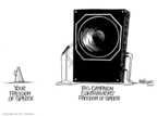 Ann Telnaes  Ann Telnaes' Editorial Cartoons 1997-09-30 amendment