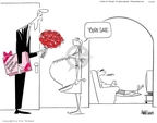 Ann Telnaes  Ann Telnaes' Editorial Cartoons 2004-10-14 George W. Bush