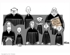 Ann Telnaes  Ann Telnaes' Editorial Cartoons 2007-10-01 David Souter