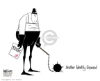 Ann Telnaes  Ann Telnaes' Editorial Cartoons 2005-10-26 Dick Cheney