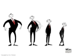 Ann Telnaes  Ann Telnaes' Editorial Cartoons 2005-11-13 George W. Bush
