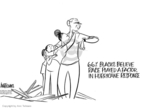 Ann Telnaes  Ann Telnaes' Editorial Cartoons 2005-09-16 Hurricane Katrina