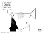 Ann Telnaes  Ann Telnaes' Editorial Cartoons 2005-10-06 George W. Bush