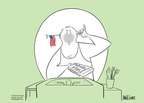 Ann Telnaes  Ann Telnaes' Editorial Cartoons 2005-06-14 patriotic symbol