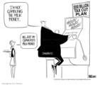 Ann Telnaes  Ann Telnaes' Editorial Cartoons 2003-05-11 taxation