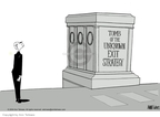 Ann Telnaes  Ann Telnaes' Editorial Cartoons 2004-05-27 George Bush