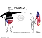 Ann Telnaes  Ann Telnaes' Editorial Cartoons 2001-07-17 amendment