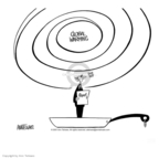 Ann Telnaes  Ann Telnaes' Editorial Cartoons 2001-06-08 climate change