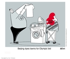 Ann Telnaes  Ann Telnaes' Editorial Cartoons 2001-02-16 2008 Olympics