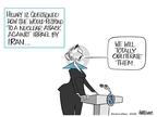 Ann Telnaes  Ann Telnaes' Women's  eNews Cartoons 2008-04-24 Israel