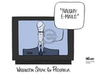 Ann Telnaes  Ann Telnaes' Women's  eNews Cartoons 2006-10-03 congressional