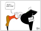 Ann Telnaes  Ann Telnaes' Women's  eNews Cartoons 2006-03-11 rights of women
