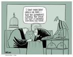 Ann Telnaes  Ann Telnaes' Women's  eNews Cartoons 2006-11-09 congressional