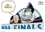 Gary Varvel  Gary Varvel's Editorial Cartoons 2008-06-12 basketball referee