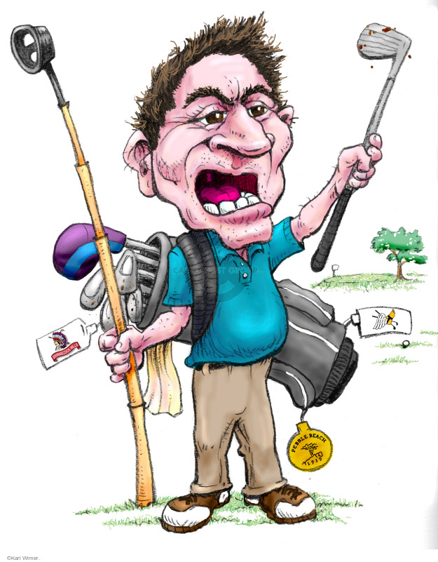 That Worst Round of Golf Guy